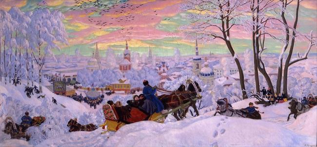 Борис Кустодиев.