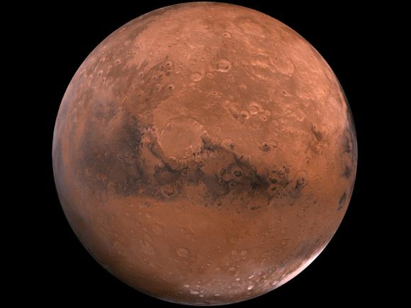 Китайский марсоход впервые передал снимки с красной планеты (фото)
