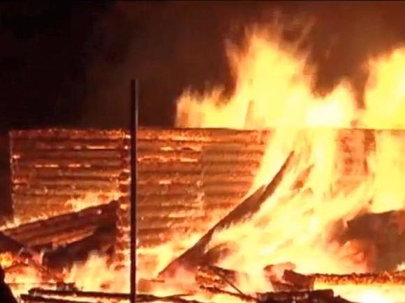 Жертвами пожара под Кировом стали четверо детей