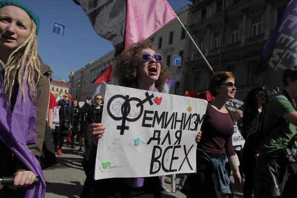 В Петербурге феминисткам отказали в шествии и пикетах