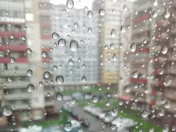 В Москве облачно и дождливо