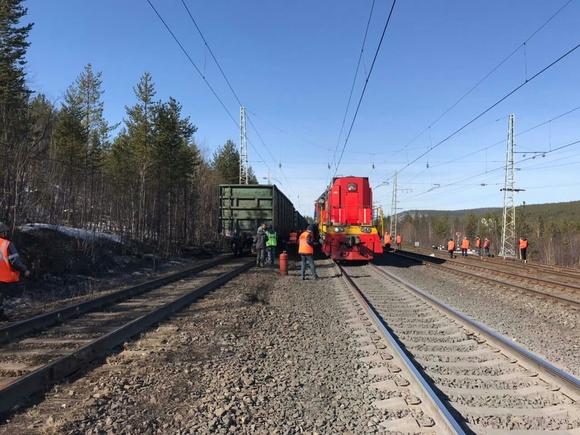 В Ростовской области горел тепловоз поезда, перевозившего горючее (видео)
