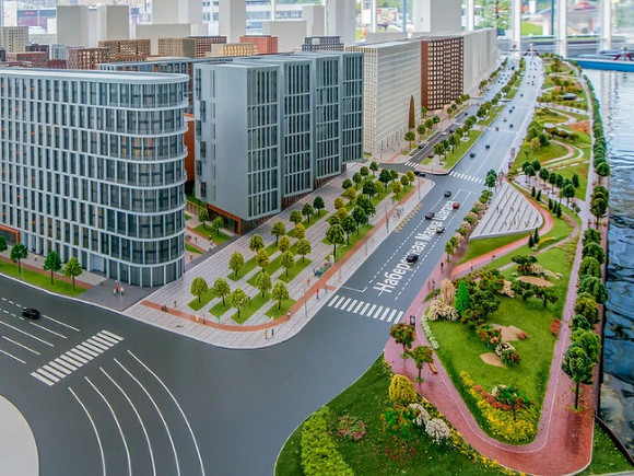 Мэр Москвы утвердил проект пешеходной набережной на полуострове ЗИЛ