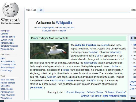 Скриншот с сайта en.wikipedia.org