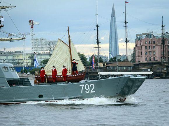 В День ВМФ в Санкт-Петербурге перекроют центр
