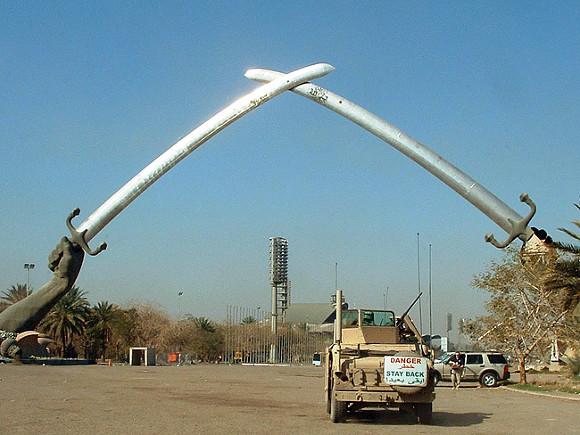 В Багдаде обстреляли ракетами военную базу США