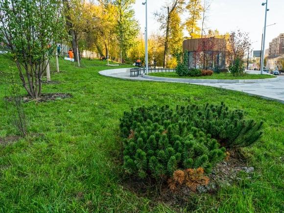Сергей Собянин осмотрел благоустройство арт-квартала в центре Москвы