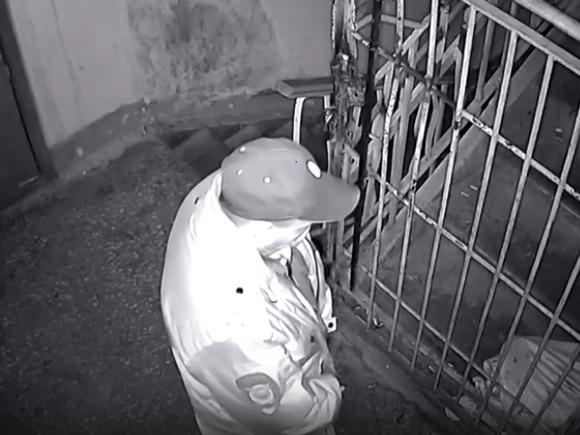 В Красноярске полицейский справил нужду в подъезде дома (видео) - Росбалт