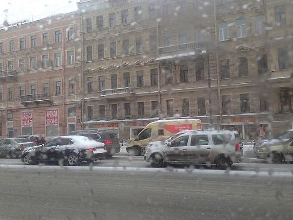В Петербурге пройдет небольшой снег