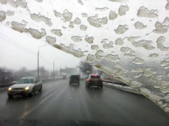 В Петербурге облачно и мокрый снег
