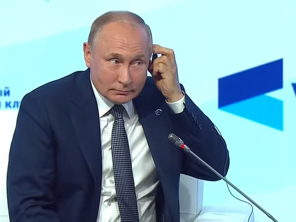 Путин сказал спасибо Европе за санкции