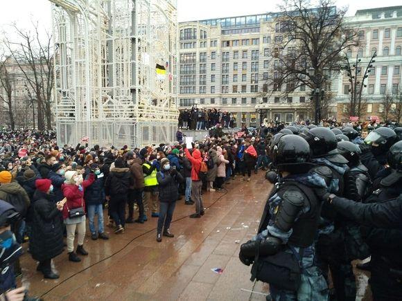 «Это рекорд с 2013 года»: только в Москве насчитали 20тыс. протестующих