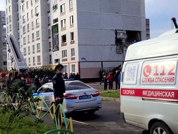 СК: При взрыве газа в Ногинске пострадали 17 человек