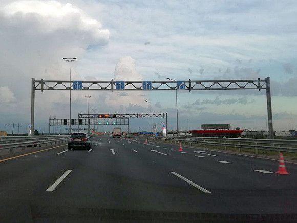 Движение на развязке КАД с Таллинским шоссе полностью перекроют