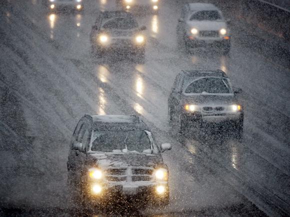 В последние выходные апреля Петербургу пообещали мокрый снег