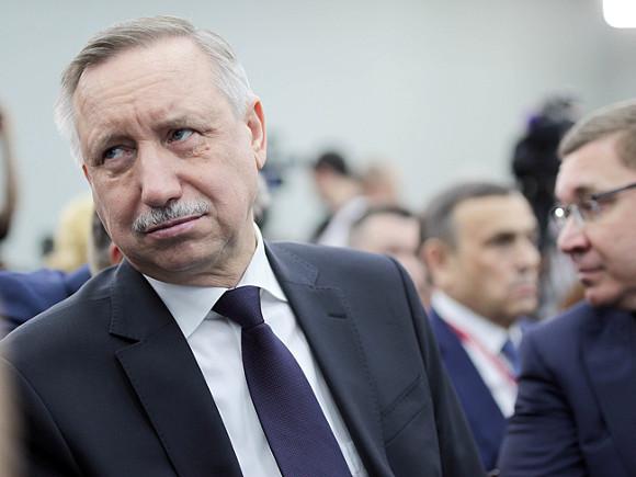 Губернатор Петербурга перешел на удаленную работу