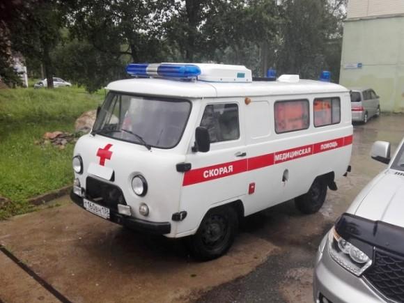 В Приморье водителю выстрелили в голову, и раненый ехал, пока не врезался в скорую