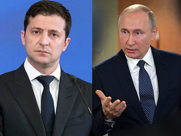 Зеленский заявил, что хочет встретиться с Путиным