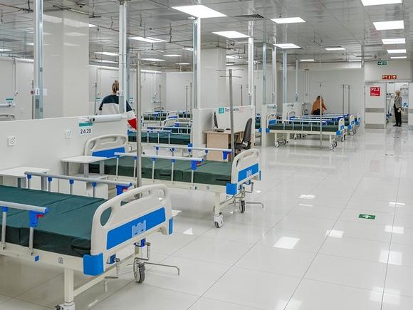 В Петербурге растет число ковидных госпитализаций