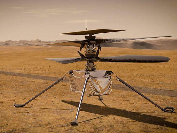 Вертолет Ingenuity впервые перелетел на новое место на Марсе (видео)