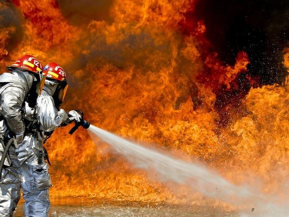 В Красноярском крае загорелось здание правительства