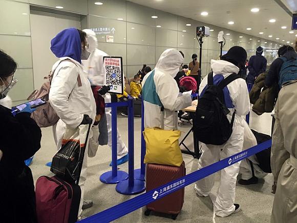 Японцы испытывают «душевные страдания» из-за анальных мазков на коронавирус при въезде в Китай
