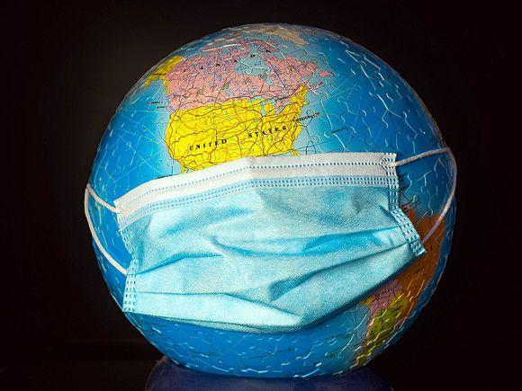 За неделю в мире выявили рекордные 2,8млн случаев коронавируса