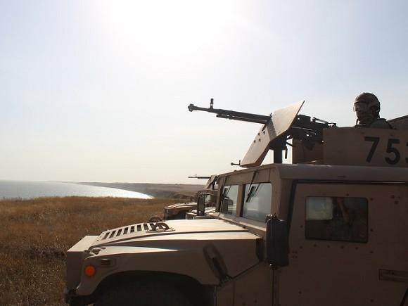 Украина проводит военные учения рядом с Крымом