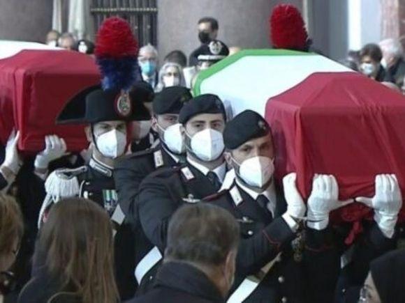 Итальянского посла, убитого боевиками в ДР Конго, похоронили в Риме (видео)
