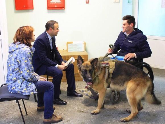 tKr4HWNz 580 - В Петербурге предложили приравнять собак-помощников к поводырям