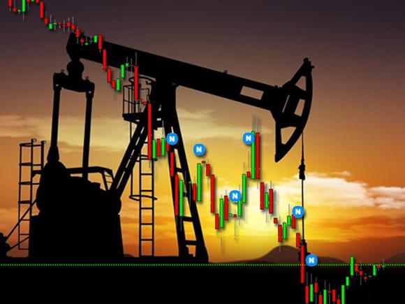 Нефть дешевеет, Brent пытается удержаться выше  за баррель
