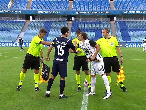 Сочи не смог переиграть Партизан в первом матче Лиги конференций