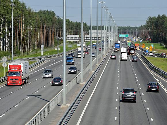 Движение по КАД между Рябовским и Колтушским шоссе полностью перекроют