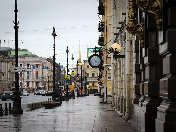 В Петербурге пройдет дождь