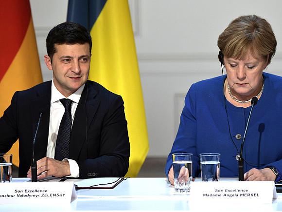 Зеленский выдвинет условия Меркель по Северному потоку-2