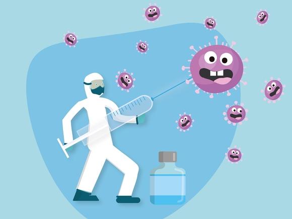 Роспотребнадзор: Штамм «дельта» может снижать защитный эффект вакцин от COVID-19