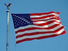 В Донбассе заметили флаг США над позициями ВСУ