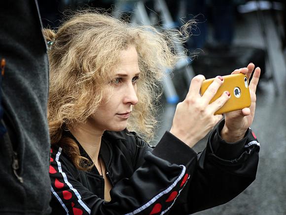 Марию Алехину отправили под арест на 15 суток