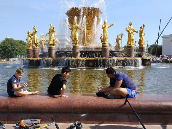 Москвичей предупредили о жаре до 33 градусов до конца недели
