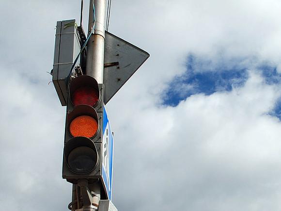 Водителей предупредили о пробке после ДТП с мотоциклом на Алтуфьевском шоссе