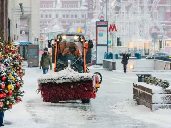 Прошедшая ночь стала самой морозной в Москве