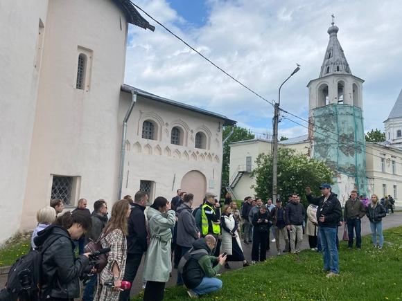 Первый день Земского съезда в Великом Новгороде (фото)