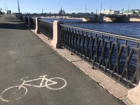 В Петербурге велосипедам нет места?