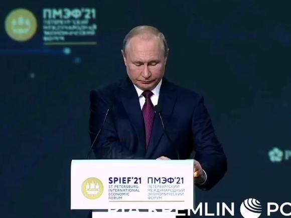 Путин: Переход к углеродной нейтральности и зеленым технологиям не должен превращаться в механизм конкурентной борьбы