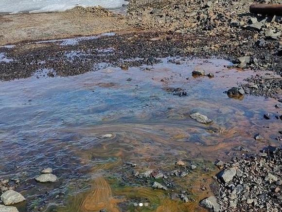 В Калуге выявлен сброс нефтепродуктов в Оку