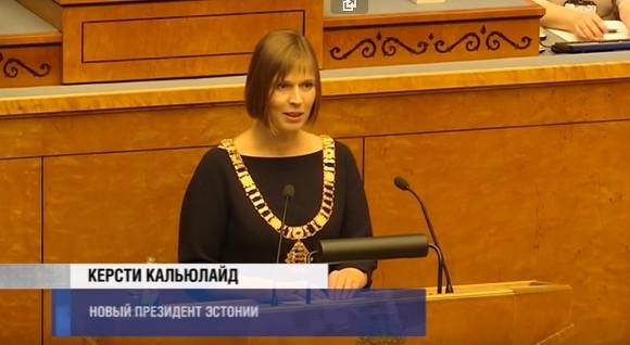 Президент Эстонии заявила, что преподавание во всех школах страны должно вестись на эстонском языке