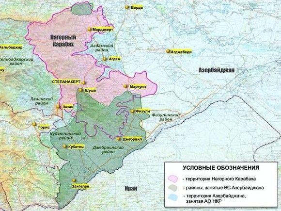 Карта Минобороны РФ
