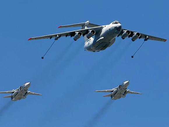 Воронежцы обсуждают транспортировку бомбардировщика Су-24 по федеральной трассе М4