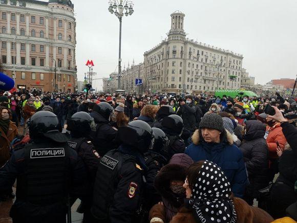 Следствие ходатайствует об аресте дравшегося с полицейскими в Москве Джумаева
