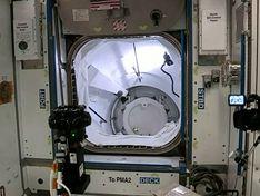 Астронавты с корабля SpaceX перешли на МКС